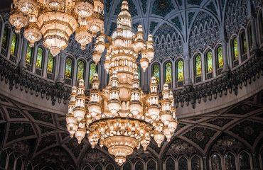 Moschee Kronleuchter