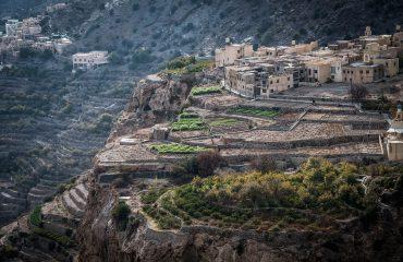 Jebel Akhdar Diana view